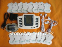 JR-309 Hot new Electrical Stimulator Full Body Relax Muscle Therapy Massager,Pulse tens Acupuncture +16 pads(China)
