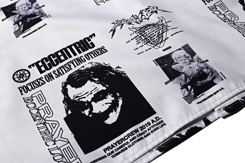 Joker Angel Print Shirts 6