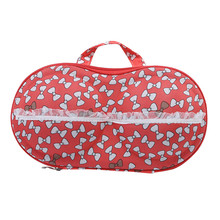 Hot Sale Creative Storage Box Container Underwear Case Travel Portable Storage Bag Box Protect Bra Cute FashionOrganizer(China)