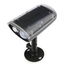 Waterproof solar flood light  outdoor Solar Power LED Spotlight Motion Sensor Activated Security Wall lamp alert 1set JC-LBM