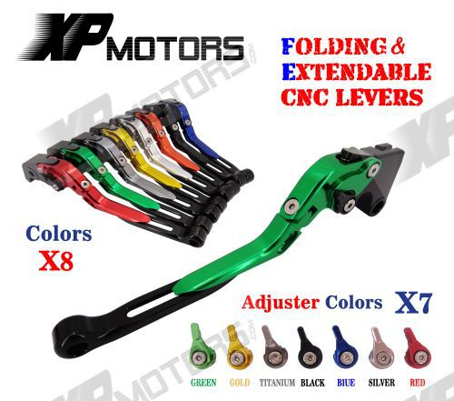 CNC Folding Extendable Brake Clutch Levers For Yamaha YZF R1 2009 2010 2011 2012 2013 2014<br>
