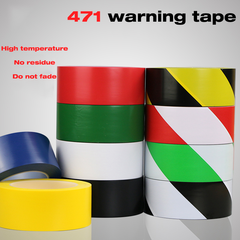 Fixparts Scotch Duct Tape Width 45mmx33m Black and Yellow Self Adhesive Hazard Warning Safety Tape Marking Safety Soft PVC tape(China (Mainland))