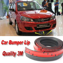 Car Bumper Lips For Proton Saga / Auto Car Front Lip Deflector Lips Skirt / Body Kit / Body Chassis Side Protection