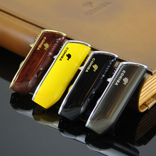 COHIBA CIGARISM Snake Mouth Shape 3 Torch Jet Flame Cigarette Cigar Lighter W/ Punch Shipped from US(China)