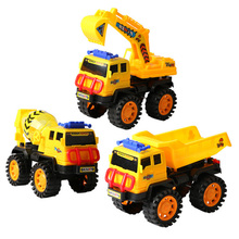 New 1PCS Engineering vehicle car children toy car plastic model truck large beach excavator model education toys for children