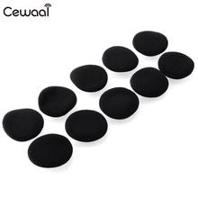 Cewaal 10pcs Original Replacement Ear Pads Cushion Earpads for Sennheiser PX100 80 px200 Headphones Headset Earphone Accessori
