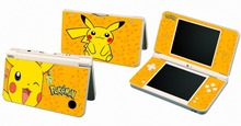 Pikachu P01 Vinyl Skin Sticker Protector for Nintendo DSI XL LL for NDSI XL LL skins Stickers