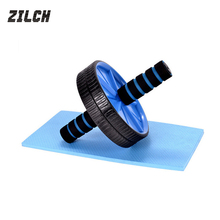 abdominal exerciser fitness training sports equipment ab wheel roller workout waist trainer 5 minutes shaper add cushion as gift(China)