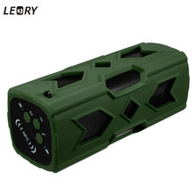 LEORY NFC Bluetooth Speaker Portable CSR 4.0 IPX4 Waterproof Outdoor Music Soundbox 3600mah Power Bank Speaker iPhone