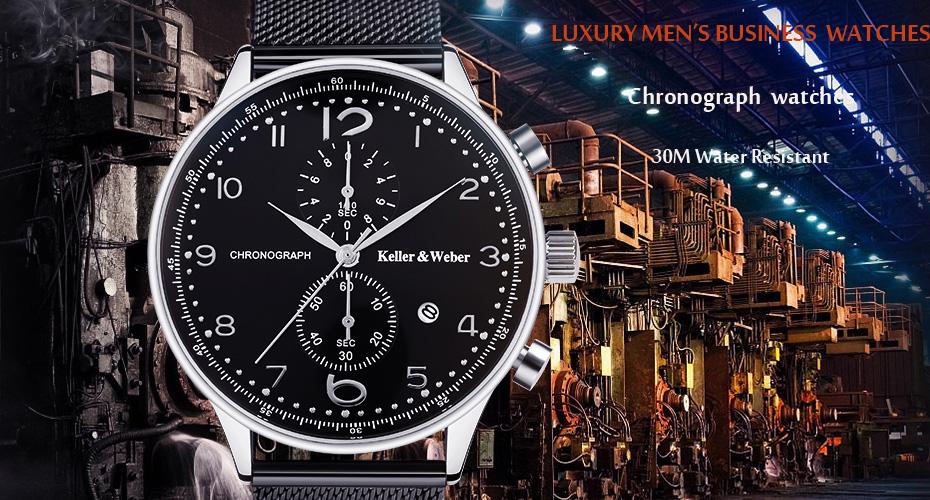 YISUYAแฟชั่นลำลองผู้ชายนาฬิกาอะนาล็อกควอตซ์ฉลามสีดำสแตนเลสตาข่ายวงสร้างสรรค์นาฬิกาข้อมือท... 2