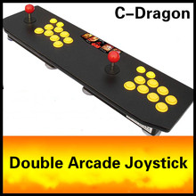 Cdragon Double rocker double arcade joystick game KOF 97 arcade fighting without delay USB computer joystick  free shipping