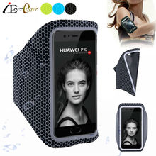 Sport Running Ultra Light Arm Band Case Cover for Huawei Y7, Enjoy 7 Plus , Honor 8 Pro V9 , Nova Youth , P10 Plus / P10 Lite(China)