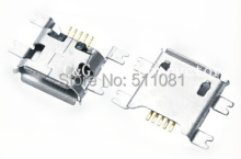 20pcs smd chip Micro USB 5p 5pin micro usb connector,Data Port Socket For Mobile Phone Tablet PC(China)