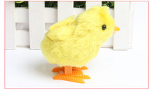 duck chicken Infant Child toys Hopping Wind Up Easter Chick(China)