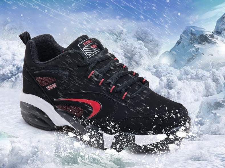 16 Winter Shoes Mens Running Shoes Outdoor Women Sport Shoe blue Keep Warm Winter Sneakers Running Shoes Free SIZE UE36-45 4