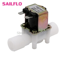 "AC220V Electric Solenoid Valve Magnetic N/C Water Air Inlet Flow Switch N/C 1/2"" #G205M# Best Quality"