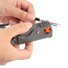 1Pc Coaxial Household Multi Tool Cable Stripper/Cutter Tool Rotary Coax Stripper for RG59/6/58 Network Tool Wire Stripper(China)
