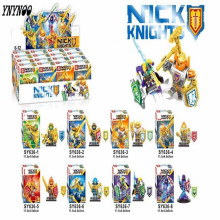 YNYNOO SY636 8pcs/lot NEW Nexo Knights Future Shield Building Blocks Castle Warrior Nexus Kids Toys Gift Compatible With Lepin