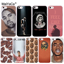 MaiYaCa Kanye Omari West Coque Shell Phone Case for Apple iPhone 8 7 6 6S  Plus X 5 5S SE 5C Cover XS XR XSMAX 8041d03a89e7