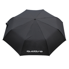Car Umbrella For audi a4 b6 b8 b7 rs4 s4 a5 rs5 s5 a6 rs6 s6 q5 sq5 80 tt rs q3 a7 rs7 s7 a3 s3 with quattro logo Accessories(China)