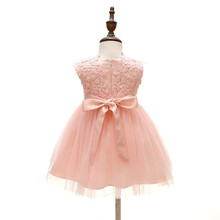 Sun Moon Kids Children `s Dress European And American Style Ball Gown Baby Girl Clothing High Quality 0-2 Years Dresses Girl