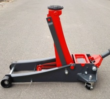 4Ton super low post with 2-pump Car sedan hydraulic floor lifting jack wheel stand auto repairing tire tyre support