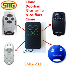 5pcs free shipping market 280-868mhz CAME Doorhan,nice-flors,nice-smilo,Clone remote control(China)