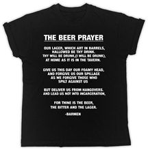 Beer Prayer T-Shirt Drinking Funny Novelty Ideal Gift Pub Fun Unisex T Shirt T Shirt Gift More Size and Colors Top Tee