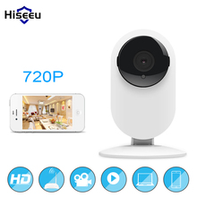 Mini Wifi IP Camera Wireless 720P HD Smart Camera Baby Monitor CCTV Security Camera Home Protection Mobile Remote Cam Hiseeu FH7