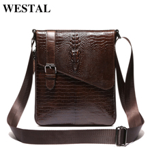Buy WESTAL Genuine Leather Men Bag Fashion Male Small Briefcase Men's Messenger Man Casual Crossbody Bags Shoulder Handbag 8239 for $30.84 in AliExpress store