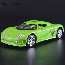 1:32 Scale Model Car Diecast Car Model With Sound&Light Collection Car Toys Vehicle Gift For Children(China)