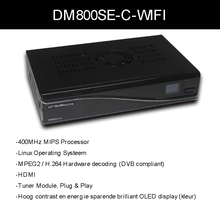 DM800hd se media player dm 800hd se sim 2.10 Rev D11 Version dm800se wifi cable receiver Sunray dm800 se with 300Mbps WIFI(China)
