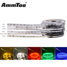 5M 300Leds 5050SMD RGB LED Strip Light Not-waterproof LED Flexible Ribbon Tape Rope Light Brighter than 5630 3528 3014 Led Strip