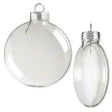 150mm x 4  Disc Glass balls wedding memory DIY bauble christmas ornament balls eventy party anniversary DIY message