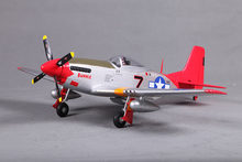FMS 800MM / Mini Warbird P51 / P-51 D Mustang V2 Red Tail PNP Duralble EPO Scale Radio Control RC MODEL PLANE