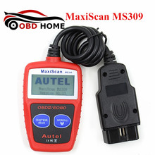 2017 Release MaxiScan MS309 OBDII OBD2 EOBD Car Diagnostic Scanner Code Reader Scan Tool MS 309 Fast Shipping