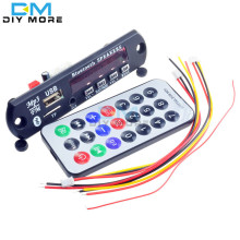 1Set Standard Wireless Bluetooth 12V MP3 WMA Decoder Board Audio Module TF USB Radio For Car
