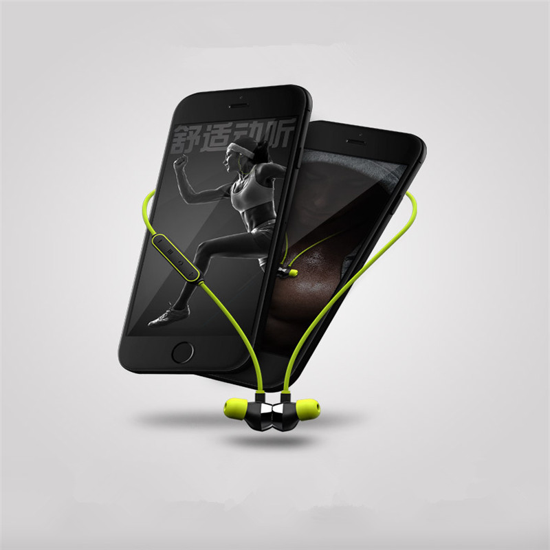 Mifo i8 Wireless Bluetooth Magnetic Mini Earphones Waterproof IPX7 Sports Headphones Stereo Earbuds With Microphone for Phone