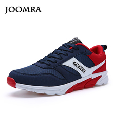 Joomra New Men's Running Shoe 2017 Spring Lightweight Breathable Outdoor Sport Shoes Wear-resistant Shockproof Sole Sneakers(China)