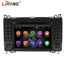 LJHANG Android 7.1.1 2 Din Car DVD GPS Radio for Mercedes Benz B Class B200 A Class W169 W245 Viano Vito W639 Sprinter W906