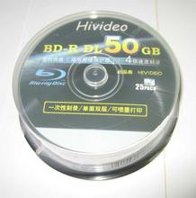 25 Pieces TDK/Hivideo 50GB printed blu ray 2-8X BD-R DL disc Fr 3D moives PS3/4 Xbox one BD DL DVD disc
