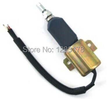 Fuel Shutdown Solenoid Valve 153ES 2212480 SA-4269-12 12V for MITSUBISHI,for Komatsu WA320-3, for KUBOTA<br>