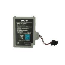 Original Assembly Battery Package For WIIU Wii u  Replacement Parts 3.7v 1500 mah For WUP-012