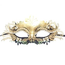 party mask decoration Beautiful Luxury Masquerade Mask Venetian Ball Masks for party masque carnaval halloween mask supplies