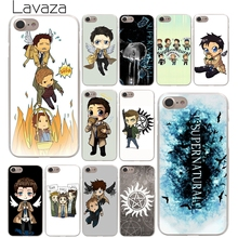 Lavaza cool Supernatural tv logo Hard Phone Cover Case for Apple iPhone 10 X 8 7 6 6s Plus 5 5S SE 5C 4 4S Coque Shell(China)