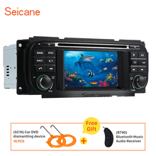 Seicane Car Radio GPS Navigation For 2002-2006 Dodge RAM 1500 2500 3500 with DVD Player Bluetooth AUX USB Support HD Digital TV(China)