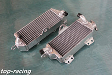 high performance 40mm L&R aluminum alloy radiator for Kawasaki KX500 KX 500 2-stroke 1988-2004 2003 2002 2001 2000