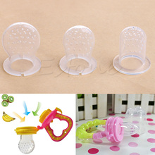 New 1Pc Life Baby Silicone Pacifier Soft More Safe Infant Food Fruit Feeder Feeding Tool Nipple