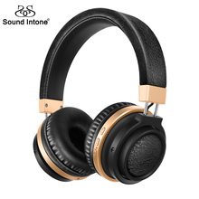 Sound Intone P3 Bluetooth 4.1 Wireless Headphones with Built-in Microphone Headsets Support TF Card for iPhone iPad Samsung