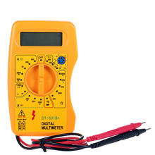 DT-831B+ Mini Digital Multimeter DMM Voltmeter Ammeter Ohmmeter hFE Tester w/Battery diagnostic-tool high quality multimetro(China)